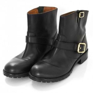 Marc Jacobs army Ankle Engineer Moto Boots Shoes 6